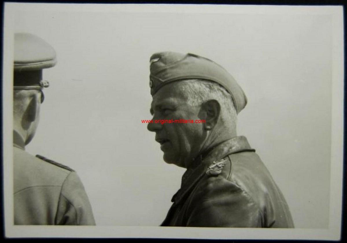 Foto Original Privada del Generalfeldmarschall Reichenau